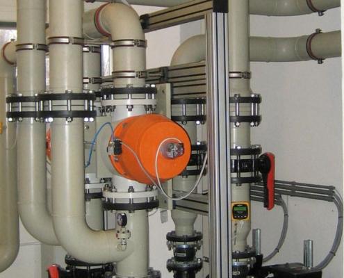 Automatisierungstechnik Abwasserfiltrationsanlage
