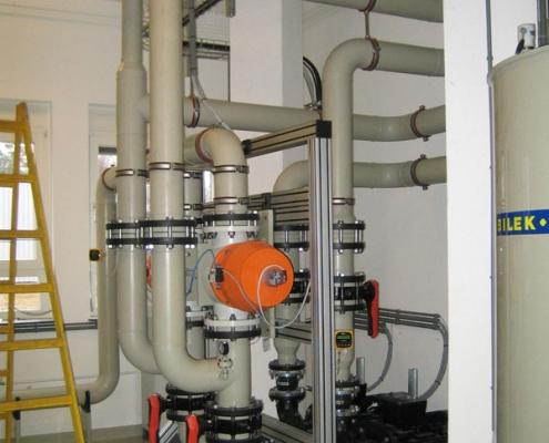 Automatisierung Anlage Für Abwasserfiltration