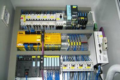 Schaltschrank Montageanlage