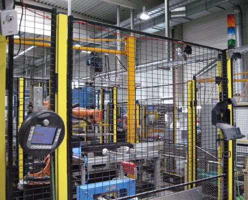 Steuerungstechnik / Automatisierungstechnik Verpackungsanlage